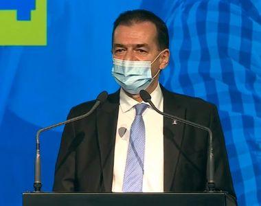 Ludovic Orban anunţă oficial că Florin Cîţu este propunerea PNL de premier