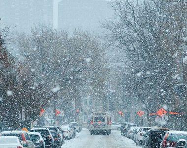 Prognoza meteo, 10 decembrie 2020. Cod galben de ninsori abundente, vânt puternic şi...