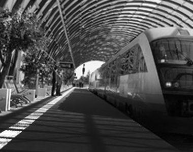 VIDEO | Trenul spre Otopeni a întârziat