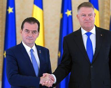Ludovic Orban, întâlnire cu preşedintele Klaus Iohannis pentru deblocarea negocierilor...