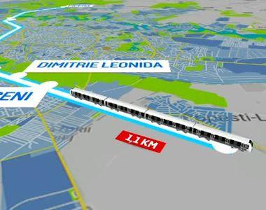 O stație de metrou supraterană va fi construită între staţia de metrou Berceni şi...
