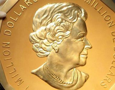 Se fac razii în țara în care s-a pierdut o monedă de aur de 100 de kg