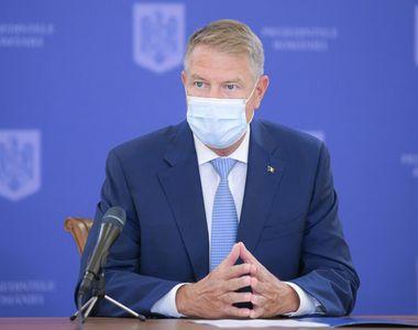 Președintele Klaus Iohannis - ședință de urgență la Cotroceni din cauza pandemiei COVID-19