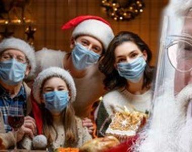 VIDEO - Recomandare OMS: Oamenii să poarte la masa de Crăciun măști