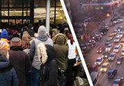 VIDEO-În prag de sărbători, în trafic și în magazine e adevărat coșmar