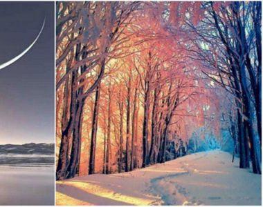 Solstiţiul de iarnă va avea loc luni. Durata zilei va fi de 8 ore şi 50 de minute