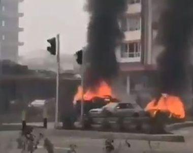 Scene șocante pe o șosea. Opt oameni au murit, peste 15 au fost răniţi