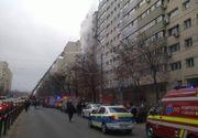 Incendiu de ultima oră în București. De la ce a pornit totul