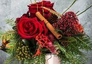 VIDEO - Aranjamentele florale pentru sărbători nu sunt ușor de confecționat