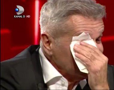 """Dan Bittman, în lacrimi, în ediţia din această seară la """"40 de întrebări cu Denise Rifai"""""""