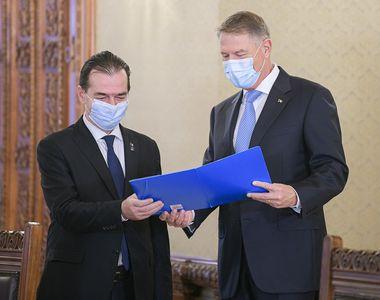 """Klaus Iohannis, prima declarație în ziua desemnării noului premier. """"Felicitări..."""