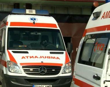 Accident devastator între un microbuz și au autoturism. Un copil de 3 ani a intrat în comă