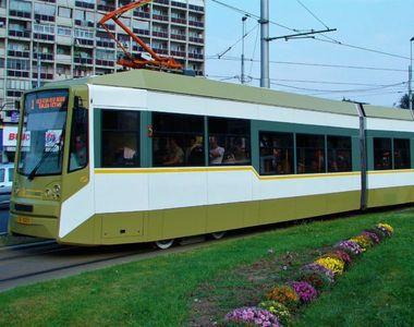 Cum vor circula tramvaiele de sărbători. Anunțul oficial
