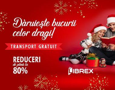 Cauți un cadou de Crăciun? Oferă o carte! LIBREX oferă și transport gratuit!