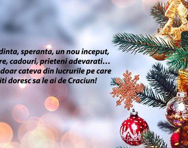 Urări de Crăciun: Mesaje magice cu Crăciun Fericit 2020 şi cu La mulţi ani 2021!