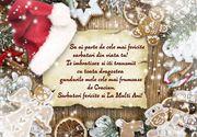 Mesaje de Crăciun 2020 - Felicitări de Crăciun 2020 - Urări de Crăciun 2020: Sărbători magice!