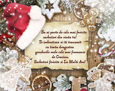Mesaje de Crăciun 2020 - Felicitări de Crăciun 2020 - Urări de Crăciun 2020: Sărbători...