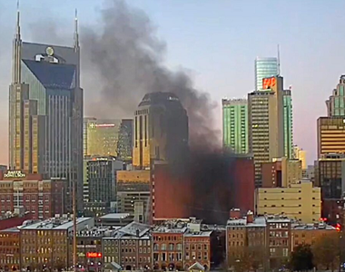 Explozie puternică în centrul unui oraş american