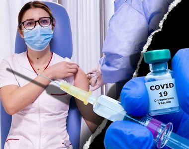 VIDEO - O asistentă de 26 de ani, prima persoană din România vaccinată anti-COVID