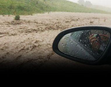 VIDEO | Inundaţii şi viscol puternic