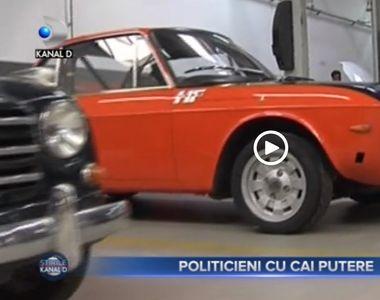 VIDEO - Politiceni cu cai putere