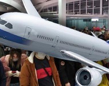 VIDEO - Aeroporturile, aproape blocate de zborurile către Regatul Unit