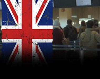 VIDEO - Avioanele către Regatul Unit au fost pline ochi de români