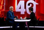 """Adrian Năstase, dezvăluiri impresionante, în ediția de aseară a emisiunii """"40 de întrebări cu Denise Rifai"""": """"Glonțul a trecut, atunci, la 3 mm de carotidă…"""""""