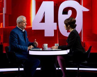 """Adrian Năstase, dezvăluiri impresionante, în ediția de aseară a emisiunii """"40 de..."""