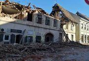 Un nou cutremur cu magnitudine mare a avut loc în Croația