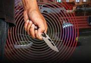 VIDEO -Un individ care și-a înjunghiat soția, lăsat liber de polițiști