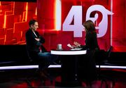 """Dan Negru, următorul invitat la """"40 de întrebări cu Denise Rifai"""", marți, 12 ianuarie, de la ora 22:30, la Kanal D: """"V-ați iubit cu Andreea Marin?"""" – una dintre intrebarile la care va trebui să răspundă celebrul om de televiziune"""