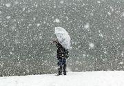 Vremea în București. Strat de zăpadă de 10 cm în Capitală