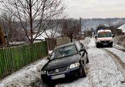 Caz șocant: Un bărbat a murit după ce a fost strivit de propria mașină