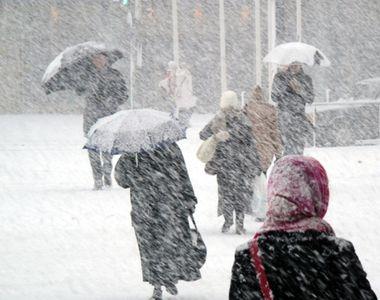 COD GALBEN de ninsori în 20 de județe. Vezi HARTA
