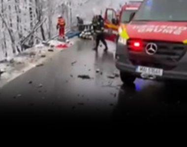 VIDEO - Iarna violentă a pus stăpânire pe România în luna lui Gerar