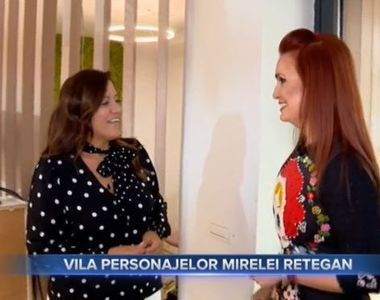 VIDEO - Casa de basm a Mirelei Retegan