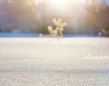 Meteo, ianuarie 2021. Începe iarna cu adevărat în România