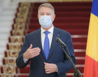 """Klaus Iohannis, prima conferință de presă din acest an. """"Mă voi vaccina public..."""