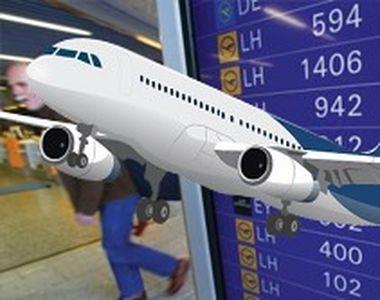 VIDEO -Vremea extremă a bulversat pasagerii pe aeroporturile românești