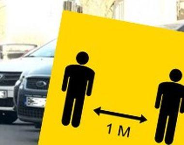 VIDEO -În România, pietonii nu pot ține distanța pe trotuarele înguste