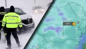 VIDEO - Vortexul polar aduce gerul năpraznic și viscolul peste România