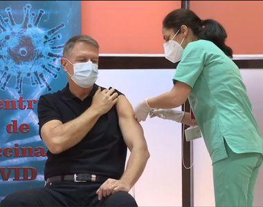 Motivul pentru care Klaus Iohannis s-a vaccinat abia acum, împotriva coronavirus....