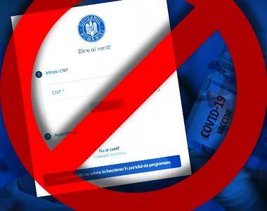 VIDEO - A fost blocată înscrierea pentru vaccinare în mai multe zone