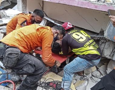 Cutremur devastator în Indonezia: Cel puțin 42 de morți și sute de răniți