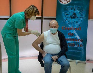 Traian Băsescu s-a vaccinat împotriva COVID-19