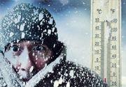 VIDEO - Ger cumplit în România: Temperaturile au ajuns și la minus 23 de grade