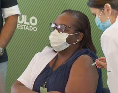 Primele vaccinări împotriva covid-19 în Brazilia, la Sao Paulo