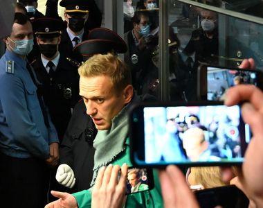 """""""Nu vă fie frică, ieşiţi în stradă"""". Opozantul rus Aleksei Navalnîi, 30  de..."""