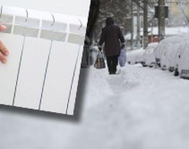 VIDEO - Locatarii din 100 de blocuri nu au căldură, deși e ger afară